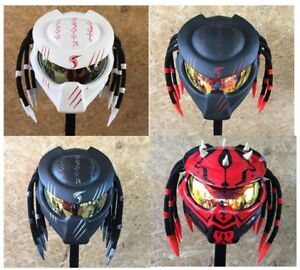 Various-Custom-Helmet-Claw-predator-motorcycle-DOT-amp-ECE-Real-helmet-size-S-XXL