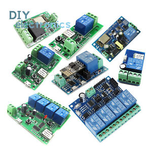 Details about ESP8266 Relay Module Wifi Relay Switch Remote Control Timer  APP Smart Home US