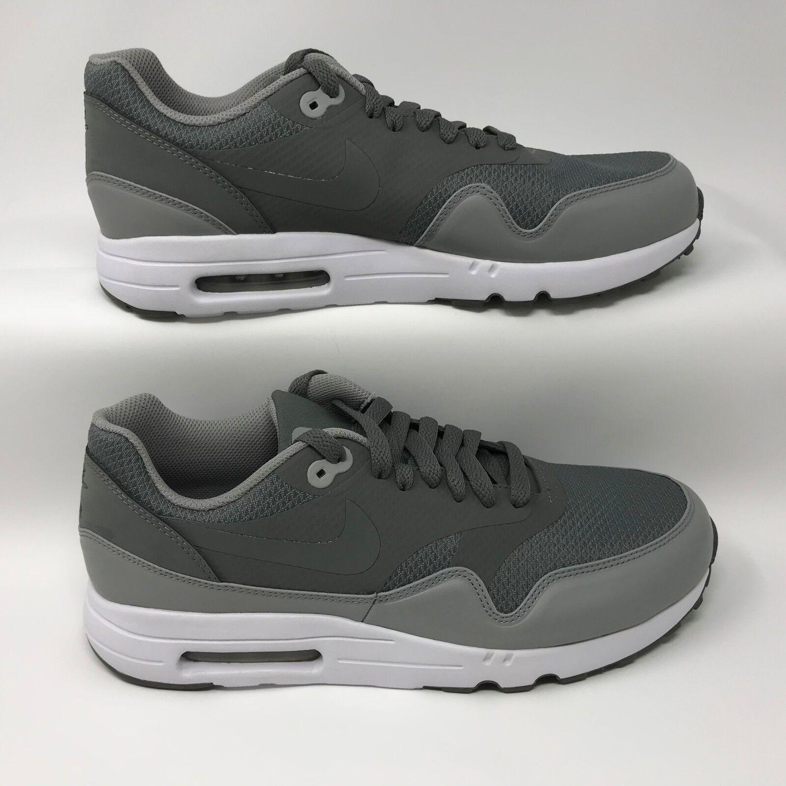 Nike 875679-003 Men's Air Max 1 Ultra 2.0 Essential Grey Size 9