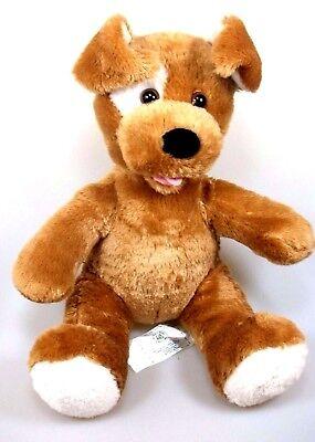 Build A Bear Cane Schlappohr Seduti Circa 27 Cm Püsch Animale Dog Plush-mostra Il Titolo Originale