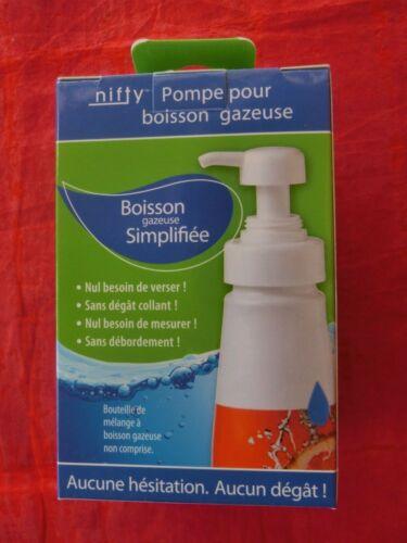 nifty POMPA pompa dosatrice dispenser per bevande sciroppo Sodastream concentrato NUOVO V