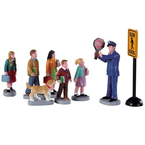 Noël LEMAX The Crossing Guard 692 modélisme personnages de Noël