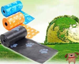 60Pcs-3Roll-Pet-Dog-Waste-Bags-Cat-Poo-Bag-Plastic-Garbage-Litter-Pick-Up-Home