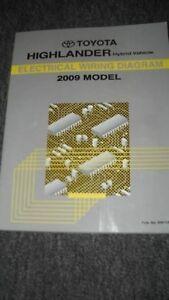2009 Toyota Highlander Hybrid Electrical Wiring Diagram ...