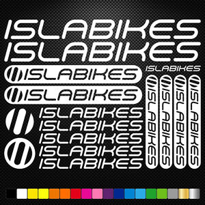 Salsa Cycles Vinyl Decals Stickers Sheet Bike Frame Cycling Bicycle Mtb Road
