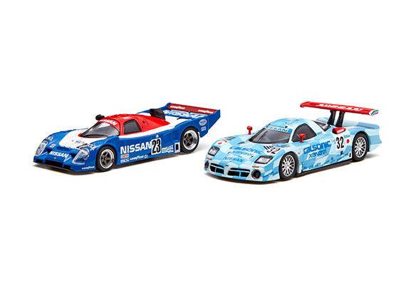Kyosho 1 64 Nissan R91cp. R390 Gt1  Set Modèle Moulé Voiture Nismo Orijinal  promotions discount