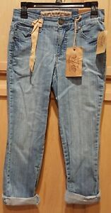 Stretch America denimjeans4 Vintage Boho West 26 Dahlia Crop Nine 9HY2IDWE
