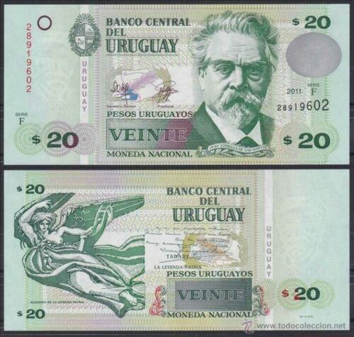 money from uruguay 20 pesos billete 20 pesos uruguay