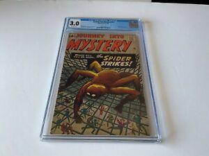 JOURNEY-INTO-MYSTERY-73-CGC-3-0-MEDUSA-GORGON-SPIDER-STIKES-MARVEL-COMICS-1961