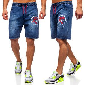 Shorts Jeans Bermudas Kurzhose Kurze Classic Sport Herren Mix BOLF 7G7 Casual