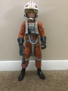 Star-Wars-LUKE-SKYWALKER-X-Wing-Pilot-Action-Figure-2013-w-Helmet-Working-London
