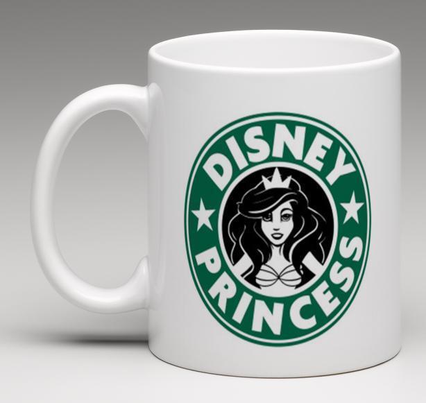 Custom Ariel The Little Mermaid Princess Coffee Mug Tea Cup Gift