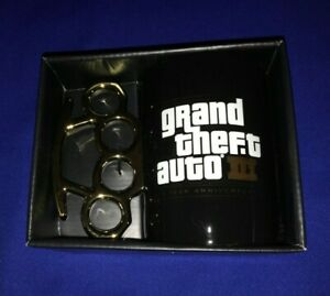 RARE-OFFICIAL-ROCKSTAR-NEW-Grand-Theft-Auto-III-GTA-3-10-Year-Anniversary-Mug