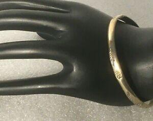 Vtg-heavy-solid-sterling-silver-etched-bangle-2-75-034-bracelet-925-chunky-17g
