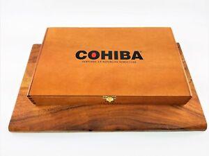 Vintage-Wooden-Cohiba-Red-Dot-TORO-Cigar-Box-Santiago-Dominicana-Collectible