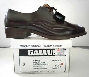 Details about Mens Brogues Gallus Padua Jena J West Germany Lace Up Shoes True Vintage NOS show original title