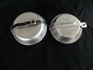 Camping Mess Kits, Lot of 2, Girl Scout and Unbranded