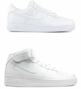 nike air force basse bianche