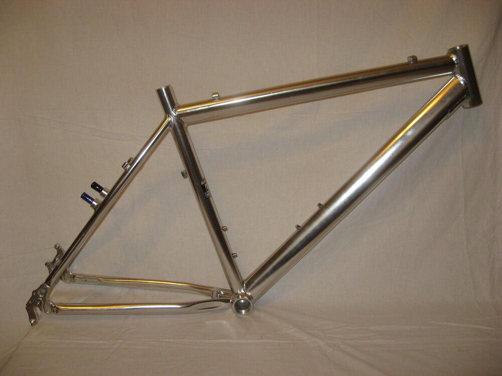 Frame mountain bike L alu alloy 7005 26  wheels Disc-brake and V-brake hardtail
