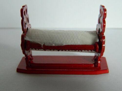 1//12th scala casa delle bambole Red Metal rullo Dispenser KP2.21