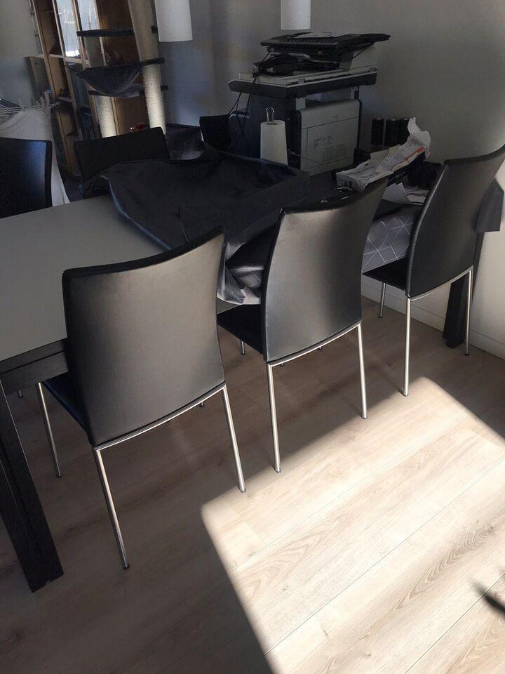 Spisebordsstol, Børstet stel – dba.dk – Køb og Salg af Nyt