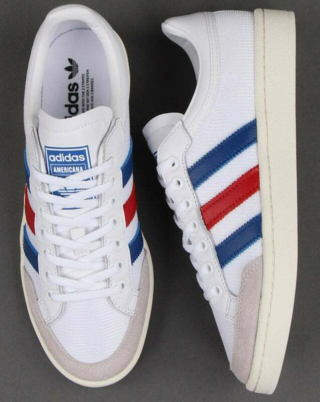 Adidas Americana Low Trainers White/royal/red