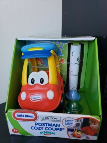 Little Tikes Fairy Cozy Coupe Scribble Squad With 4 Crayons & Coloring Roll  for sale online | eBay