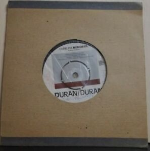 DURAN-DURAN-CARELESS-MEMORIES-KHANADA-45-GIRI-USATO-STAMPA-INGLESE-1981