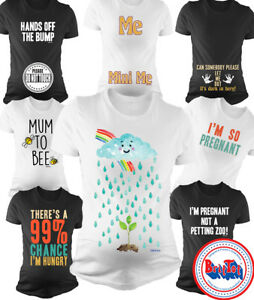 305d9ab30 Ladies MATERNITY T-Shirt Clothing Pregnancy Funny Baby Shower Gift ...