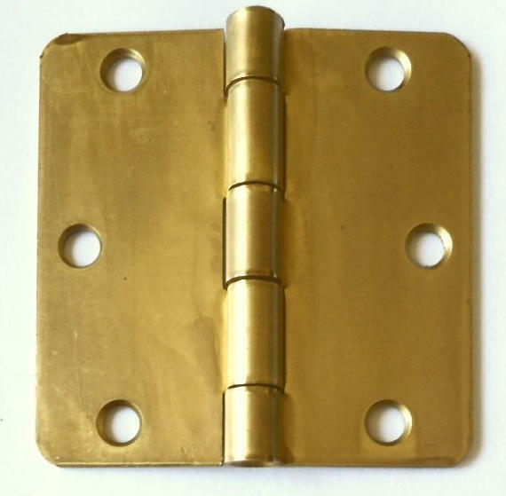 NEW BUTT HINGE Solid BRASS 75MM 3 INCH 1 Pair