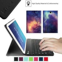 Samsung Galaxy Tab Tablet Leather Case Cover With Removable Bluetooth Keyboard