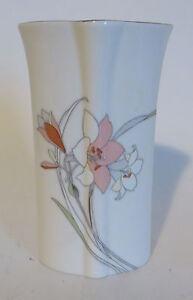 Yamaji Japan Ceramic Vase Floral 6 Inches Tall