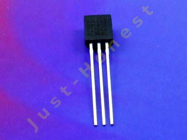 DS1820 ( DS18S20+ ) Temperatur Sensor / Digital Thermometer ARDUINO #A558