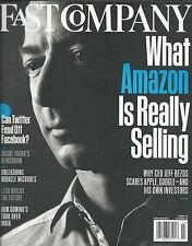 Fast Company magazine Amazon Jeff Bezos Twitter Facebook Yahoo Lego Dominos