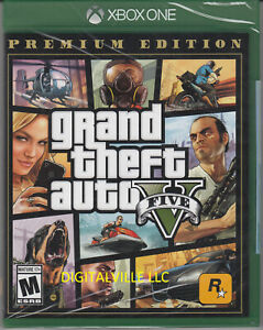 Grand-Theft-Auto-V-Premium-Edition-Xbox-One-Brand-New-Factory-Sealed-GTA-5