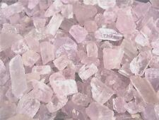 Kunzite crystal all natural Afghanistan clear lite pink 30 gram lots 5-12 pieces