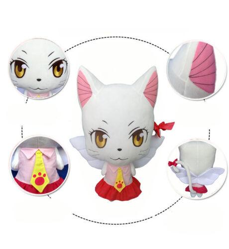 Anime Fairy Tail Carla Sharuru シャルル Plush Doll Cartoon Pillow Cosplay Xmas Gift
