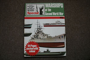 Warships-Of-The-Second-World-War-Purnell-039-s-History-Of-The-World-Wars-Special
