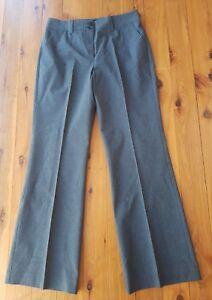 GINGER-TREE-Fine-Black-Grey-Houndstooth-Trousers-Pants-Size-10