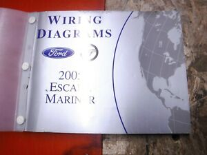 2005 FORD ESCAPE MERCURY MARINER FACTORY WIRING DIAGRAMS ...