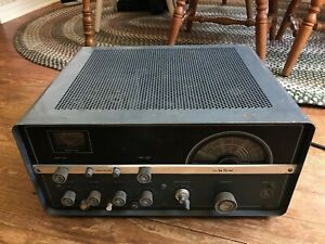 Hallicrafters Ht 37 Ham Radio Transmitter Complete Used Untested Ebay
