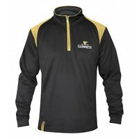 Guinness Classic Performance Zip Top Mens Irish Ireland Embroidered Jacket