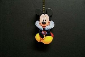 1 disney mickey mouse ceiling fan pull pulls ebay image is loading 1 disney mickey mouse ceiling fan pull pulls aloadofball Choice Image