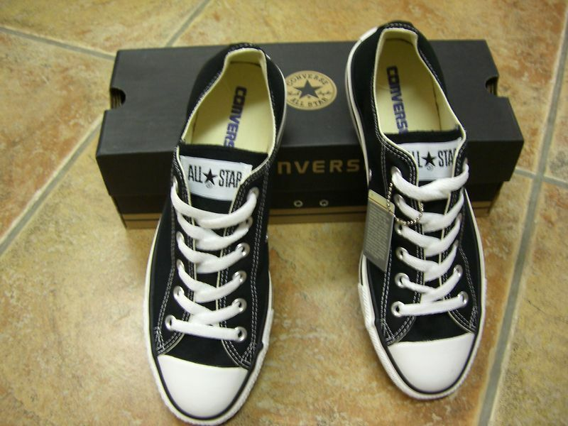 Converse Chucks  All Star OX Gr.45  Black  Chucks Schwarz  Neu 830642