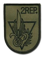 French Foreign Legion 2e Rep Subdued Patch Para L330