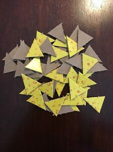mouse trap board game 2005 replacement parts set of 48 cheese pieces