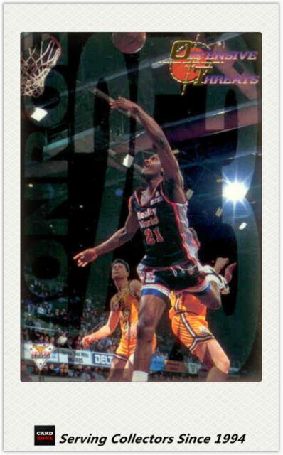 1994 Australia Basketball Card NBL Regular S1 Offensive Threat OT6 Rodney Monroe