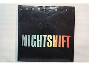 COMMODORES-NIGHTSHIFT-I-KEEP-RUNNING-SINGLE-7-034-UK-1984-MB-VG-EX-NM