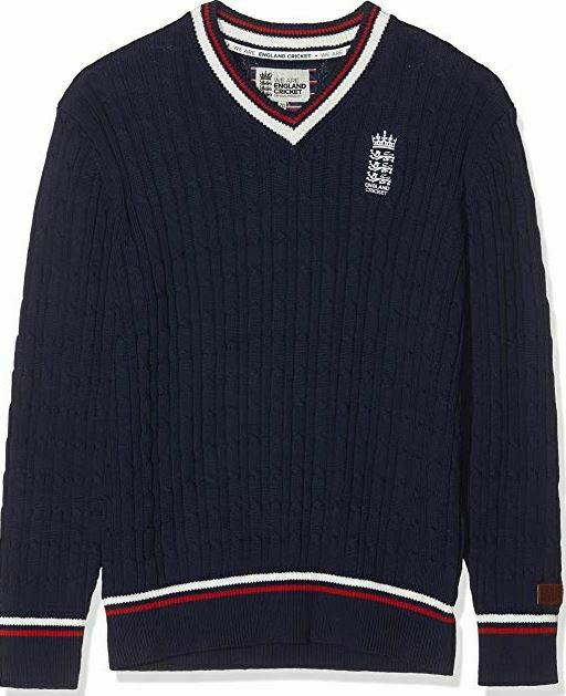England Cricket Jumper Mens Navy Medium *REF77