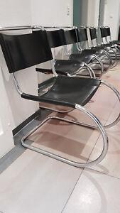 Design Stuhl Mr 10 Freischwinger Ludwig Mies Van Der Rohe Bauhaus Ebay
